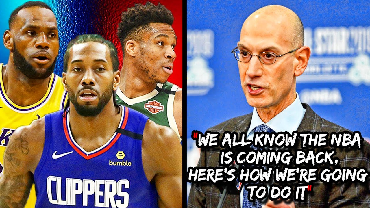 The Plan That Will SAVE The NBA Season! Update on The Return