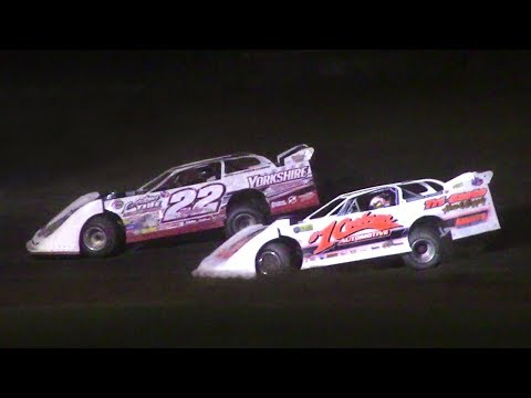 ULMS Super Late Model Feature | McKean County Raceway | Stephanie Eckl Memorial | 9-30-17