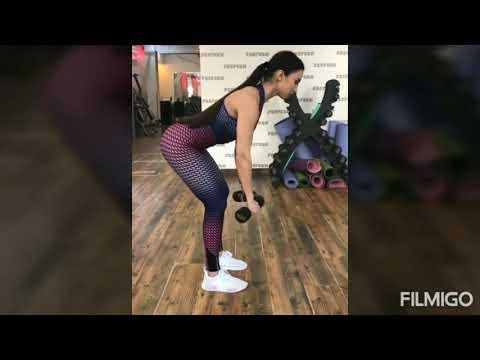 Zarina Nizomiddinova fitness dagi | ЗАРИНА НИЗОМИДИНОВА МАШХУЛОТТА