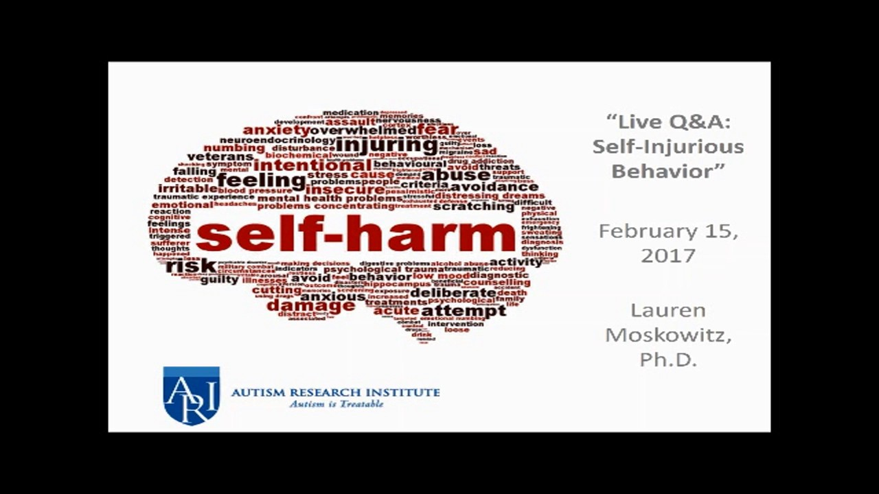Self-Injury | Autism Research Institute