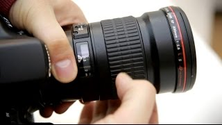 видео Canon EF 200mm f/2.8 II L USM
