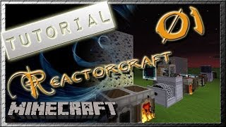 Minecraft Mod Tutorial: Reactorcraft -01- De Pitchblende a Uranium Fuel Pellet - (En Español)