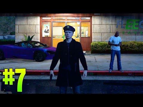 GTA V LIFE #7 | CUANDO QUIERES ATRACAR UN BANCO PERO... | GAMEPLAY ESPAÑOL | BLACKWDW