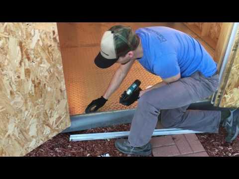 How to install aluminum diamond plate floor (Part 1)