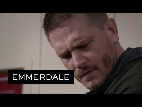 Emmerdale - David Finds Maya's Earring in the Sports Hall