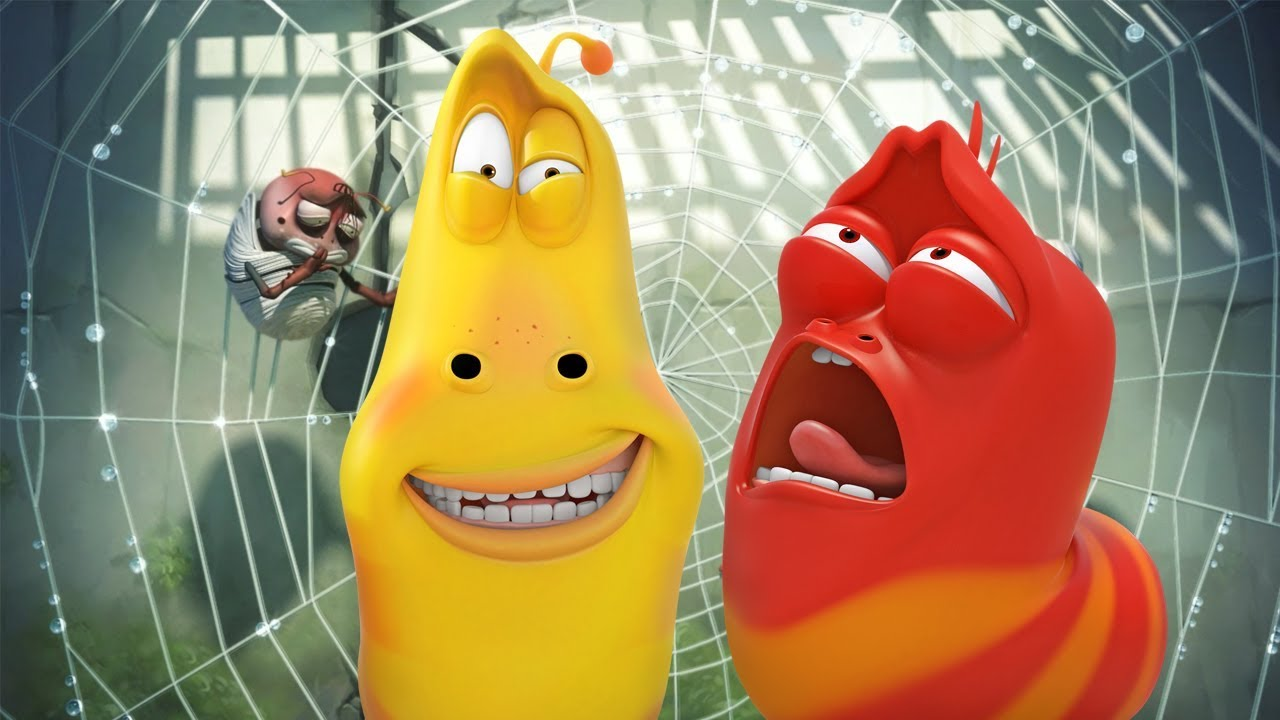 LARVA - WEB BAND | Cartoon Movie | Cartoons For Children | Larva Cartoon | LARVA Official