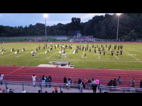 Armada High School Marching Band Song 1 9/9/16