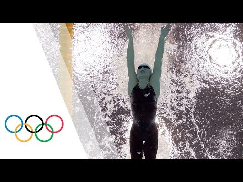 Jiao Liuyang sets Olympic Record - Women's 200m Butterfly | London 2012 Olympics Games