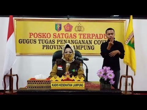 Update Penanganan Covid-19 Provinsi Lampung: Enam Pasien Dinyatakan Sembuh