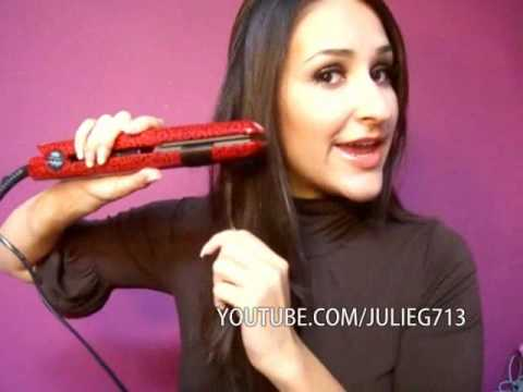 Naughty Girl Curls Curling Your Hair With Flat Iron