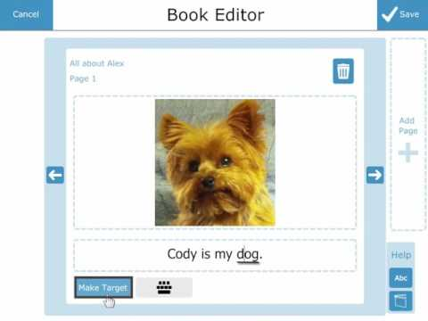 Accessible Literacy Learning (ALL) Book Editor