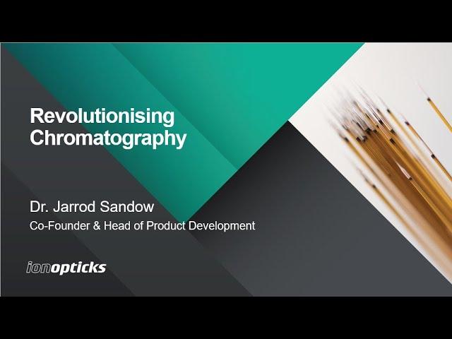 Webinar on-demand: Revolutionising chromatography with Aurora Series columns