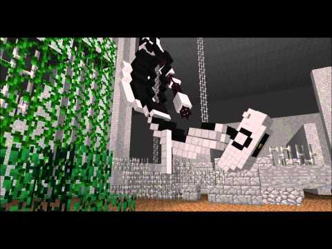 GLaDOS Wakes Up (In Minecraft)