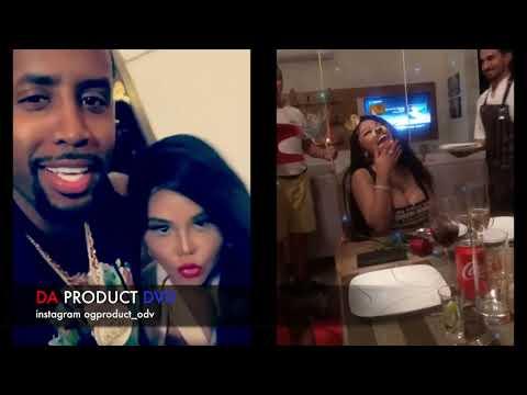 Safaree Not Feeling Nicki Minaj Blood Boyfriend & Turns Up To Meek Mill..DA PRODUCT DVD