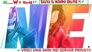 🔴 PRIVATE SERVER: WIN THE PARTITES AND YOUR SKIN! FORTNITE ITA 🔴 CODE -j1-gabrydelle-yt