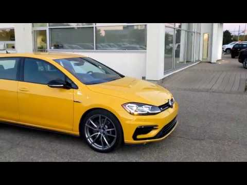 2018 Ginster Yellow Golf R Test Drive Youtube