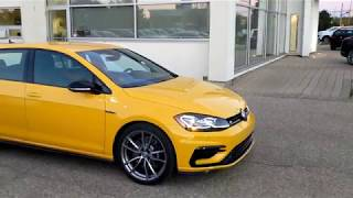 2018 Ginster Yellow Golf R Test Drive