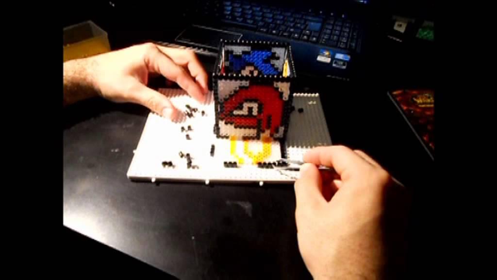 Tutorial c mo hacer una caja con hama beads youtube - Hama beads cuadros ...