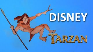 HOW TO DRAW ✎ TARZAN ✎ DISNEY