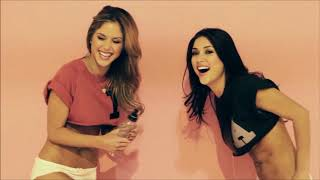 Arianny Celeste and Brittney Palmer FHM photoshoot