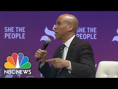 Cory Booker: Language President Donald Trump Uses Is Toxic | NBC News
