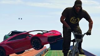 GTA 5 Online - BMX VS ZENTORNOS! (GTA V Online)