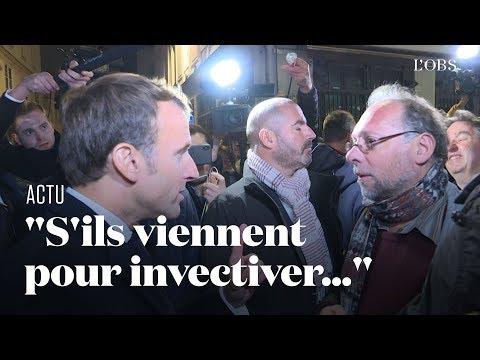 Macron chahuté à