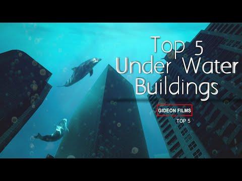 Top 5 Under Water Buildings   house inside ocean   Underwater Houses   Underwater Structures