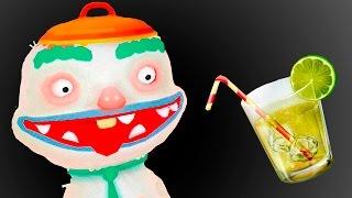 ГОТОВКА ЧЕЛЛЕНДЖ #4 - 100 СЛОЕВ ГОТОВКИ - смешная развлекательная игра видео для детей #ПУРУМЧАТА