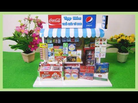 DIY Miniature DollHouse Kit (new) /Đồ chơi lắp ráp mô hình cửa hàng tạp hóa mini búp bê/ Ami DIY