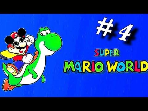 Super Mario World # 4 Ich geb den Geist auf BOSS