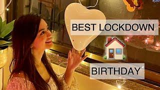LOCKDOWN BIRTHDAY | VLOG | FAMILY | Unnati Parab