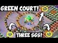 Green Court: Three SGs in One Hit! + Finishing hit! ✦ Boom Beach