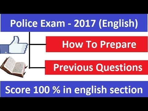 How To Study English For Police Exam Get 100 Score In English