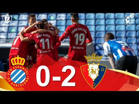 Espanyol Osasuna Goals And Highlights