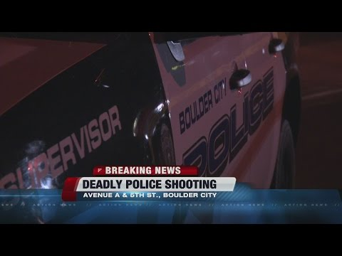One dead in Boulder City officer-involved shooting