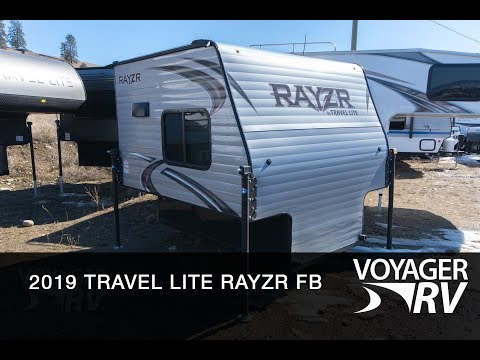 For Sale: New 2019 Travel Lite Rayzr FB Truck Campers| Voyager RV Centre