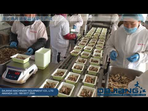 Seafood Packaging | Intelligence Assembly Line At Haiwa Seafood | Automatic MAP Tray Sealer