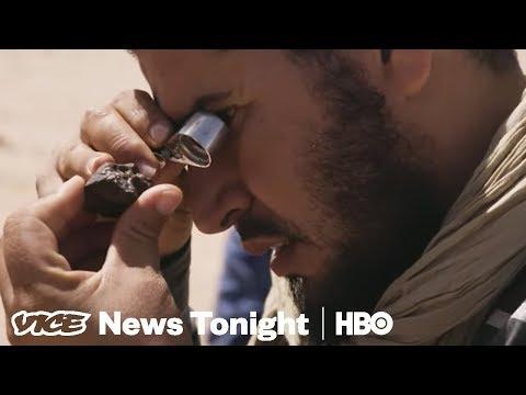 Meet The Meteorite Hunters of Morocco (HBO)