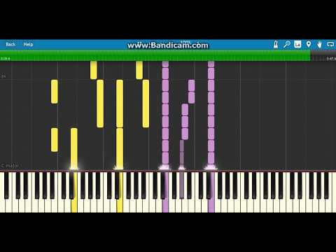 how to play walking the wire on piano