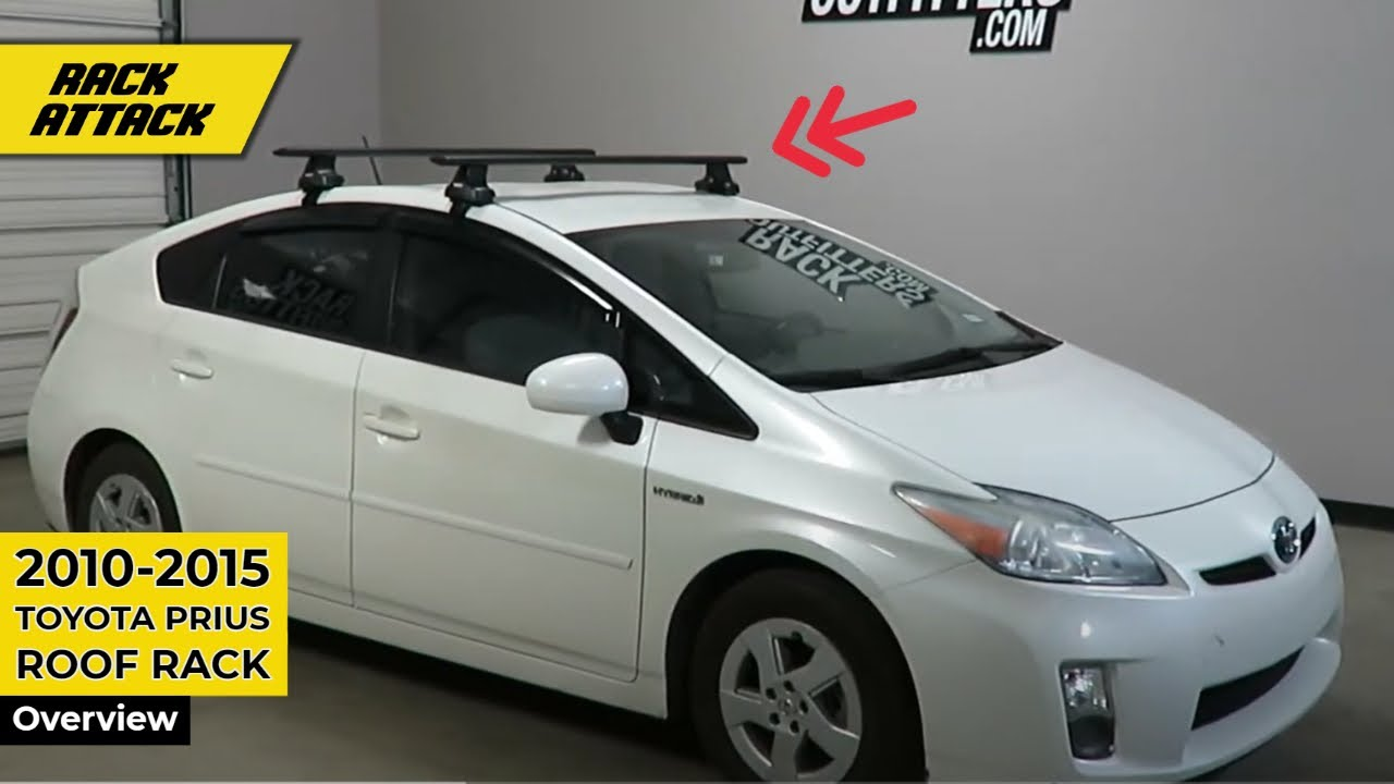 2010 to 2015 Toyota Prius 5DR with Thule Rapid Traverse