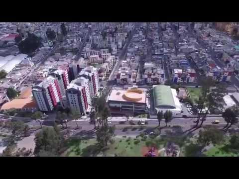 TIC/Quito vista desde un dron