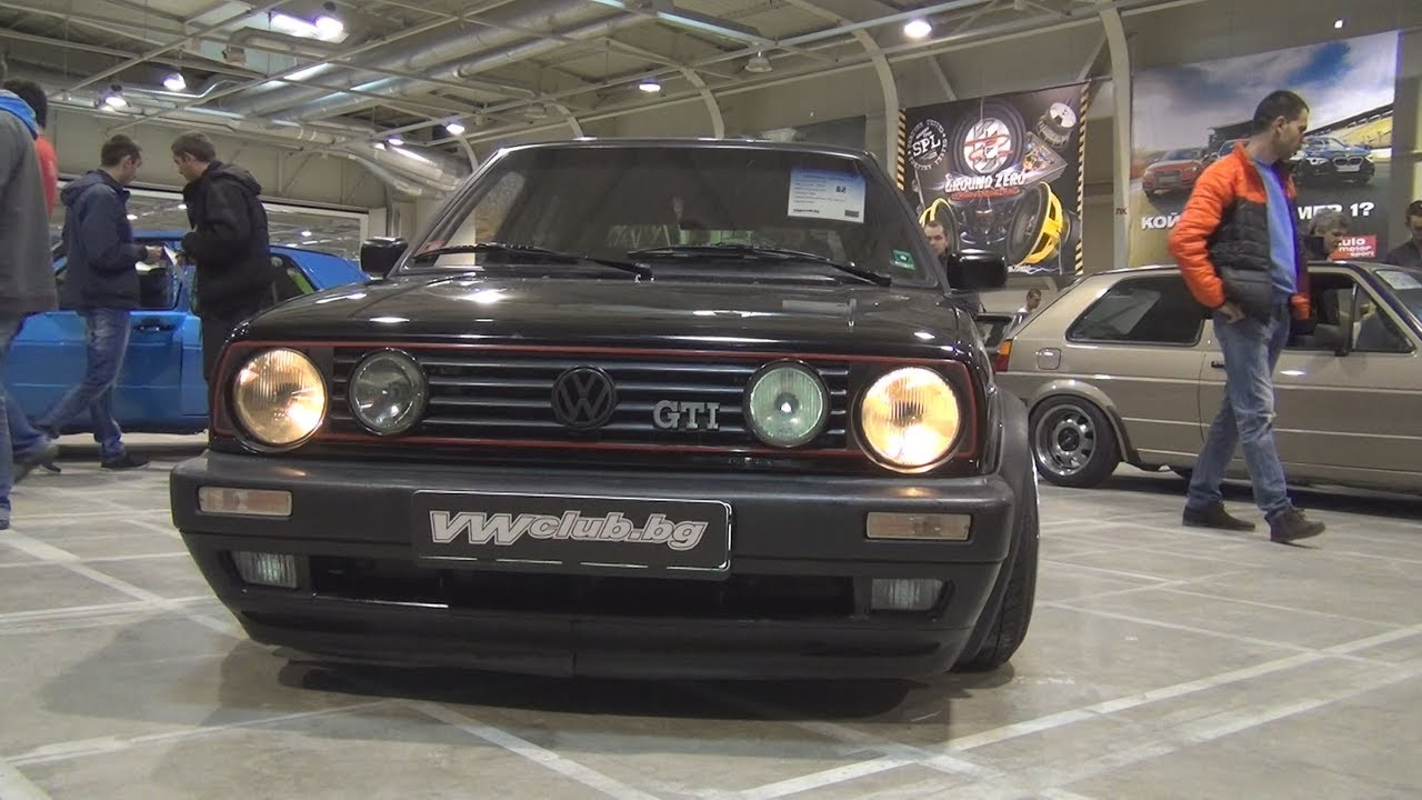 Volkswagen Golf Mk2 Gti 1990 Exterior And Interior Youtube