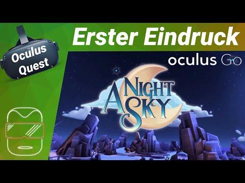 Oculus Quest - A Night Sky [deutsch] Erster Eindruck Coatsink Review Trailer Virtual Reality VR