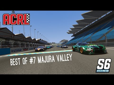 ACRL Season 6 GT3 PRO-AM Race #7 @ Majura Valley || BEST-OF! thumbnail