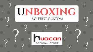Diamond Painting - UNBOXING -  My First Custom - huacan official store on AliExpress