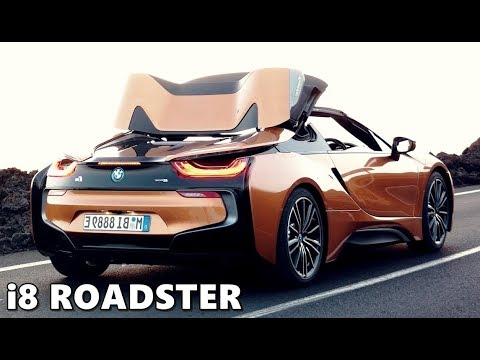 2019 Bmw I8 Roadster Roof Mechanism Youtube