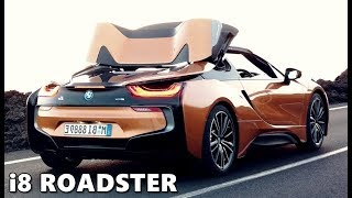 Bmw i8 roadster 2018 exterior interior driving in depth look 2019 bmw i8 roadster roof mechanism sciox Image collections