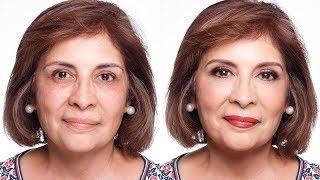 Tutorial  Maquillaje de Noche para Pieles Maduras
