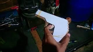 Mainan Pistol Kayu Tipe 2